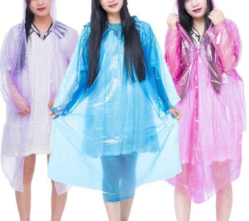 1 PC Waterproof Rain Coat Poncho