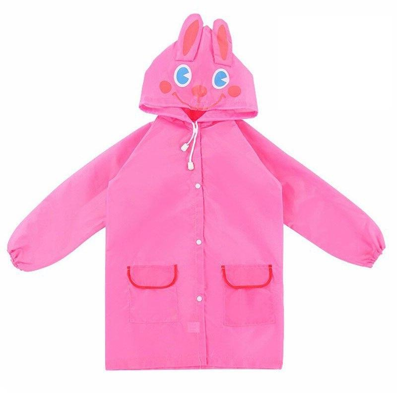 1pcs Cartoon Style Waterproof Raincoat children <font><b>Rain</b></font> Rainsuit Animal Style Raincoat