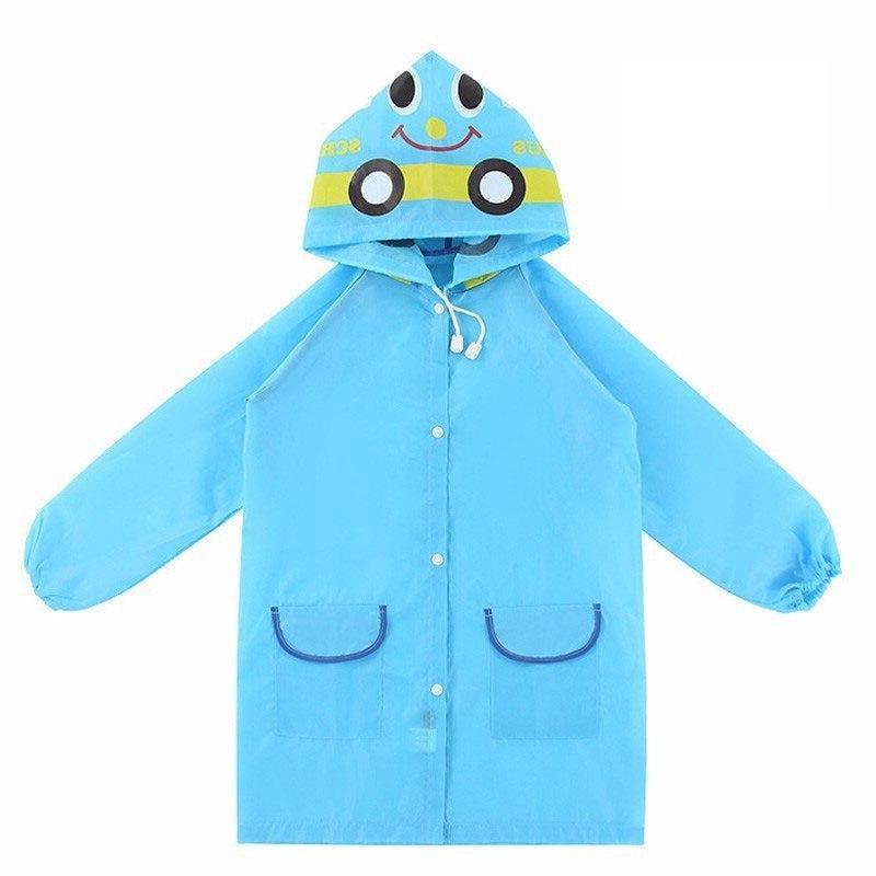 1pcs Cartoon Animal Style Waterproof children <font><b>Coat</b></font> Rainsuit Raincoat