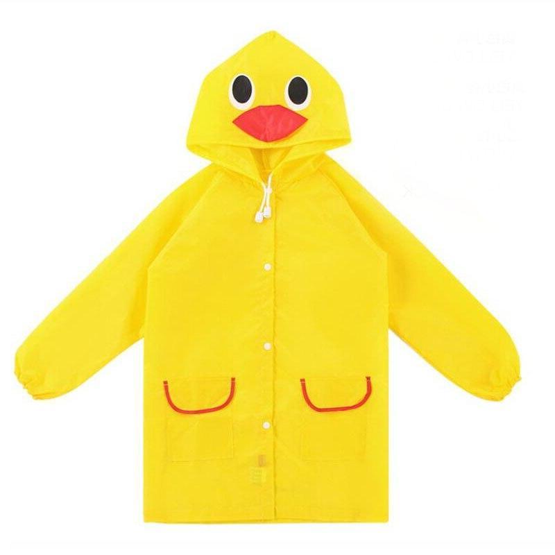 1pcs Cartoon Waterproof Kids For children <font><b>Coat</b></font> Rainsuit Raincoat