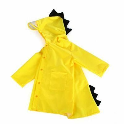 Children Dinosaur Coat Kids Raincoat Outdoor