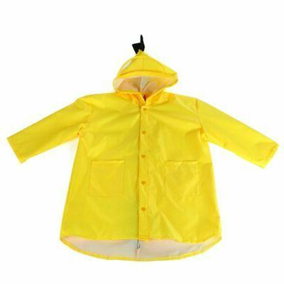 Children Dinosaur Rain Coat Outdoor