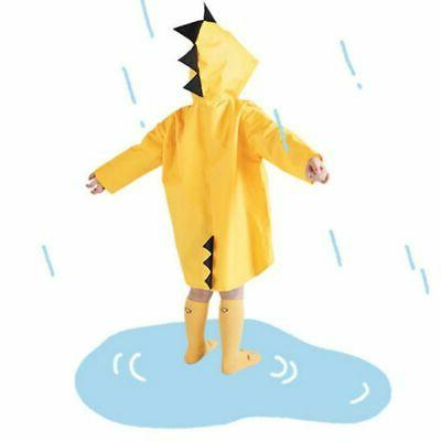 Children Dinosaur Rain Coat Waterproof Raincoat Outdoor