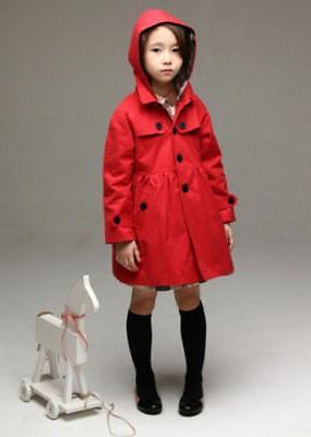 2-7 Kid Hooded Coat Jacket Clothing