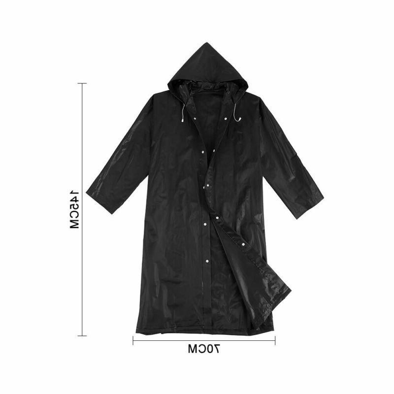 Waterproof Rain Coat Poncho Army Rain Cover Rain NEW