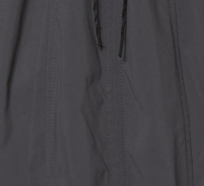 Petite Black Packable Hooded