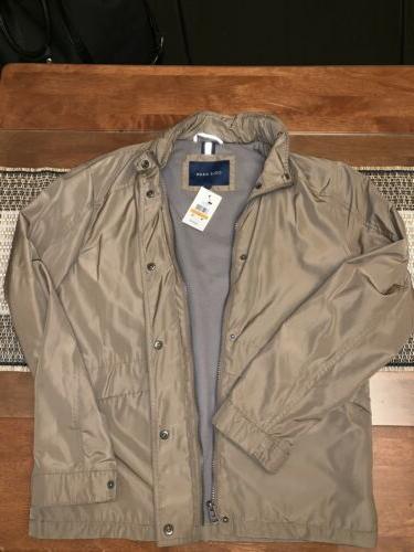 300 mens packable trucker raincoat