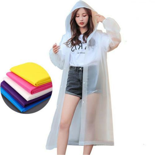 3PCS Women's Raincoat Rain Jacket Poncho
