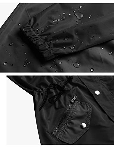 Abollria Lightweight Raincoat Rain Jacket