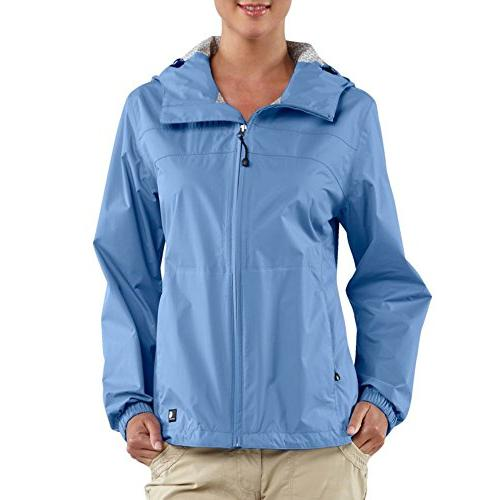 Carhartt Women's Waterproof Downburst Jacket,Cornflower  ,Sm