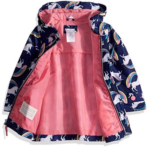 Carter's Toddler Her Favorite Rainslicker Rain Jacket, Unicorn