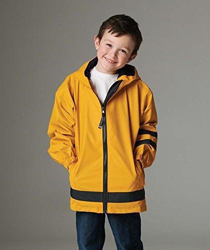 Children's New Englander Waterproof Rain Jacket by Charles R