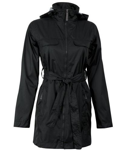 Charles River Apparel Women's Nor'Easter Rain Jacket, Black,