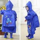 Children Rain Coat Printing Raincover Hooded Poncho Raincoat
