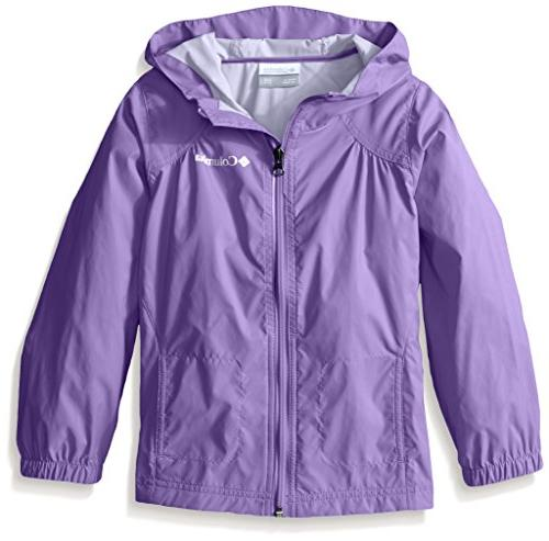 ba0dd482d Columbia Big Girl's Switchback Rain Jacket, Grape Gum, ...