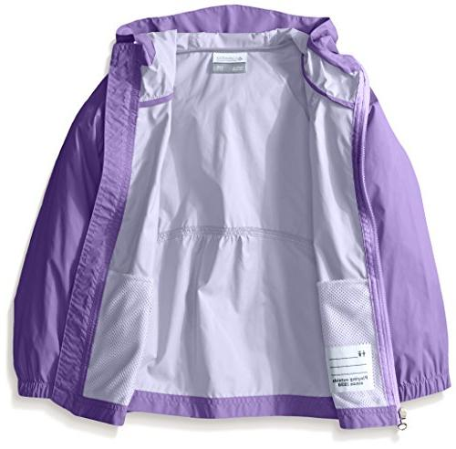 09c98acb5 Columbia Big Girl's Switchback Rain Jacket, Grape Gum,