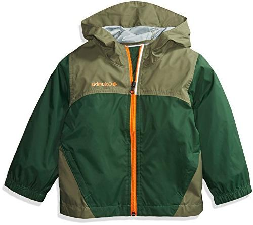 Columbia Toddler Boys' Glennaker Rain Jacket, Forest, Cypres