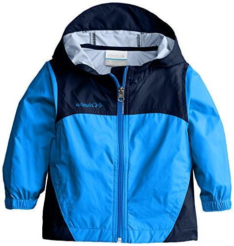 Columbia Toddler Boys' Glennaker Rain Jacket, Hyper Blue, 3T