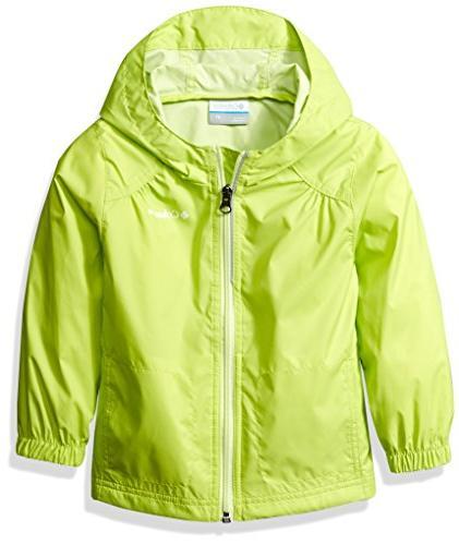 Columbia Toddler Girls' Switchback Rain Jacket, Spring Yello