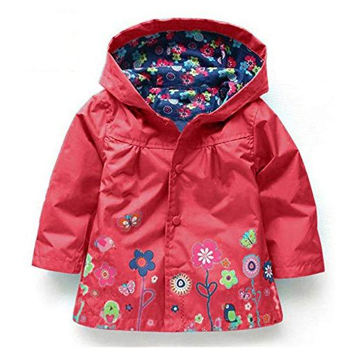 FEITONG Kids Cute Flower Coat