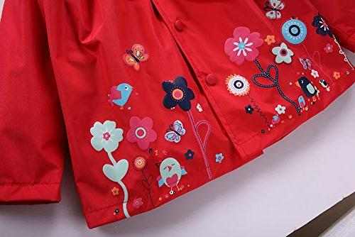 FEITONG Girls Clothes Kids Flower Coat