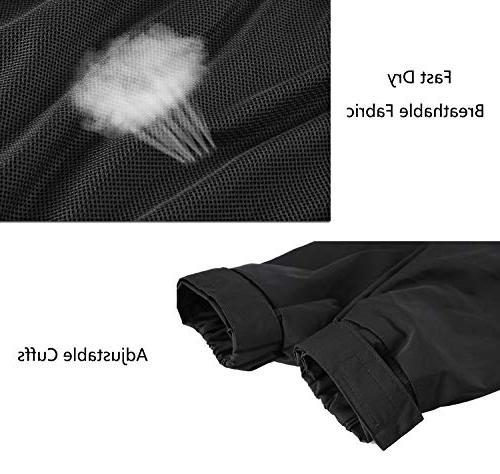 FISOUL Raincoats Women's Hooded