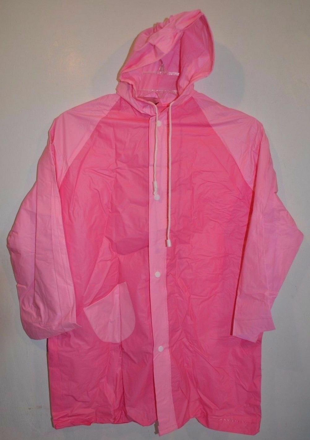 Girl & Boy Water Proof Plastic/PVC Rain Coat For Children 6-
