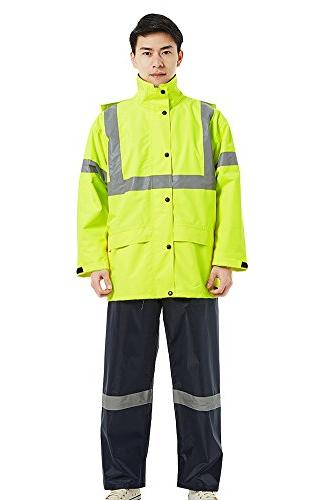 Insun Men's Rain Jacket Jacket and Pants Rain Coats Waterpro