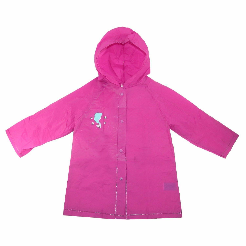 Kids Girl's Hooded Coat Jacket Waterproof
