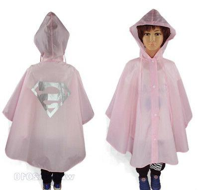 Kids Coat Raincoat Waterproof Rainsuit