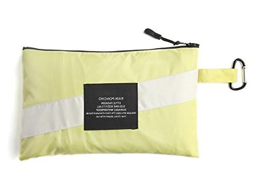 LINENLUX Stylish Unisex Hooded Waterproof with Zipper Outdoor Bike Point