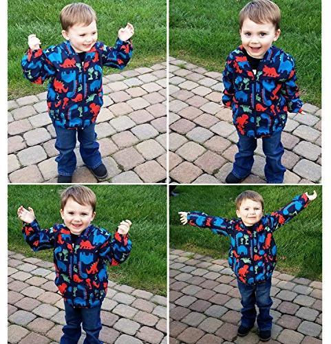 Little Hand children Weatherproof Printed For Toddler Girls Boys,Navy