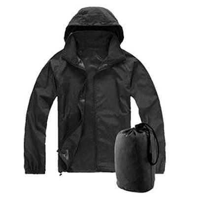 Men Women Waterproof Jacket Outdoor Lightweight Rain