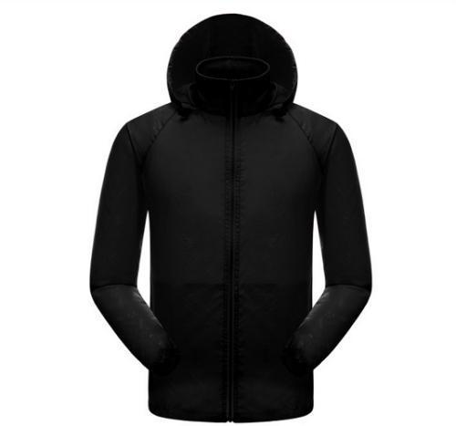Men Women Waterproof Jacket Outdoor Lightweight Sport Hooded