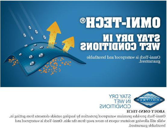 "New II"" Omni-Tech Rain Wind"