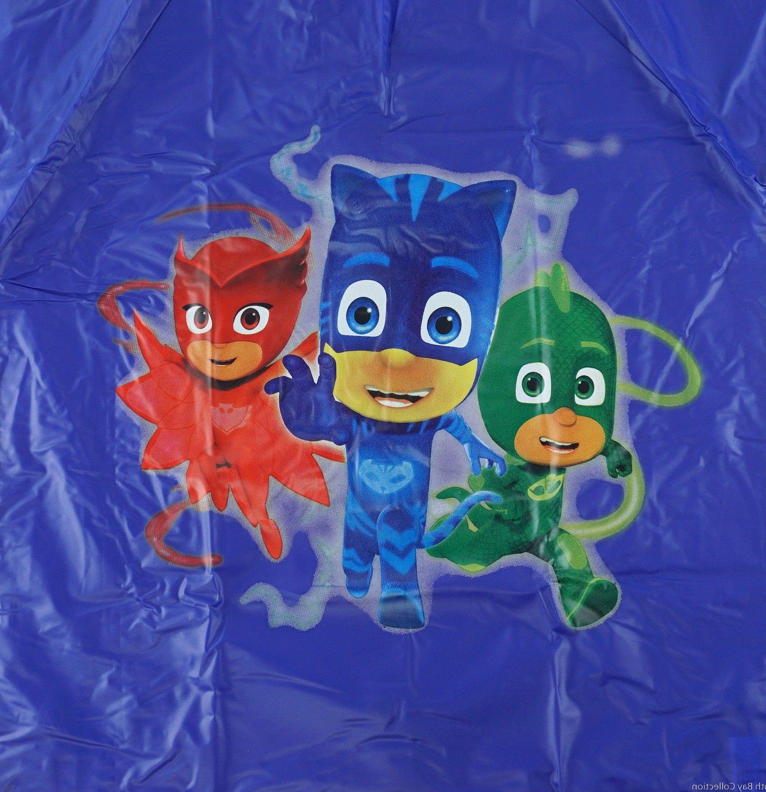 PJ Hooded Rain Animated Heroe for Toddler