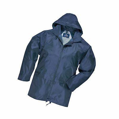 Portwest Classic Rain Jacket, Small to XXL, 3 colours - Navy