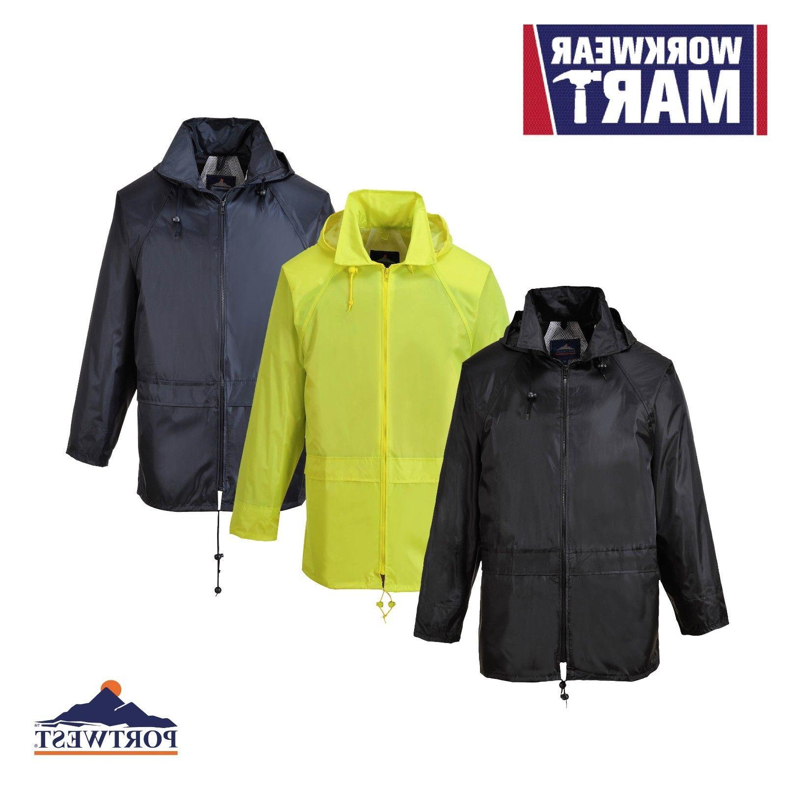 Portwest Classic Jacket waterproof with hood