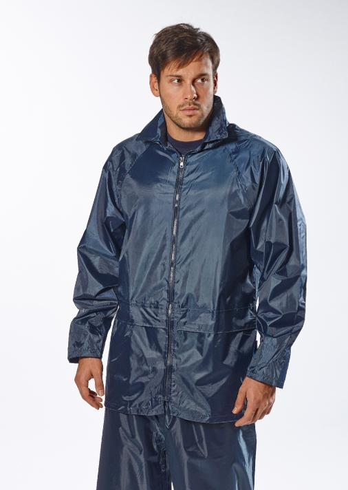 Portwest US440 Classic Rain Jacket - waterproof with hood S-