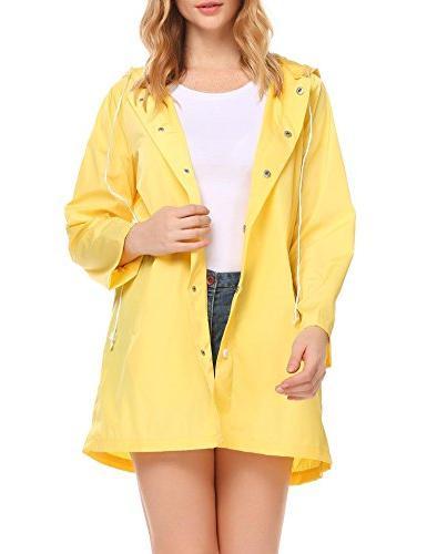 SoTeer Waterproof Raincoat Outdoor Rain