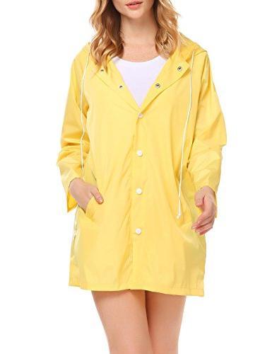 SoTeer Lightweight Raincoat Hood Long Outdoor