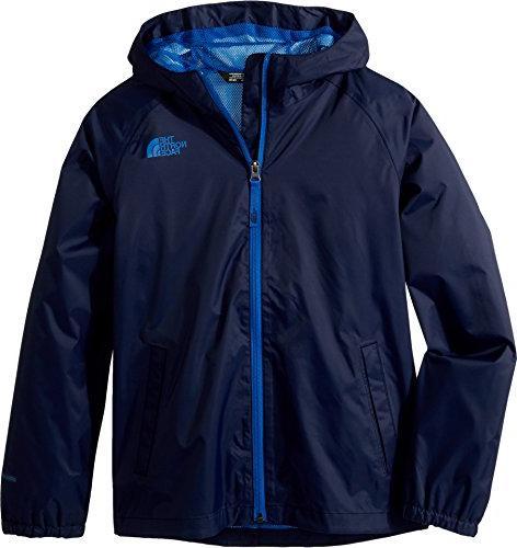 The North Face Kids Boy's Zipline Rain Jacket  Cosmic Blue X