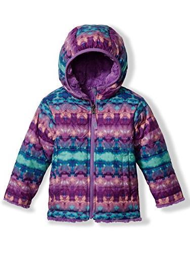 The North Face Toddler Girl's Reversible Mossbud Swirl Jacke