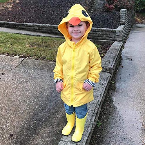 Toddler Hoodie Zipper Coat