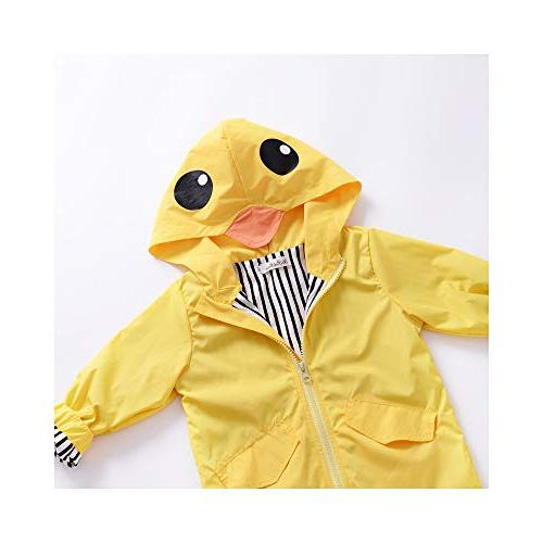 Toddler Baby Boy Girl Duck Hoodie Zipper Coat