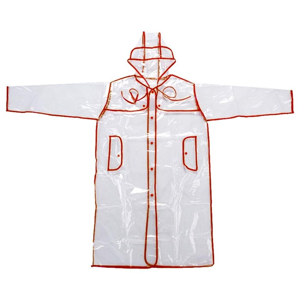 Transparent Raincoat Style Womens Fashion Rain Coat