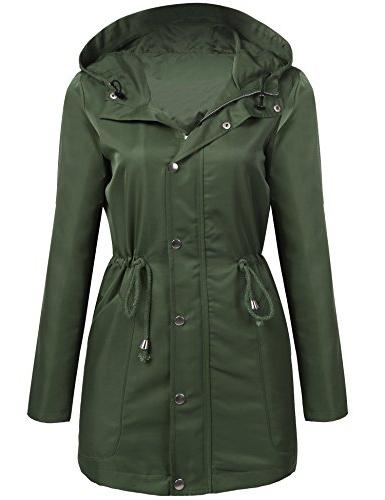 UNibelle Women's Lightweight Packable Outdoor Coat Windproof