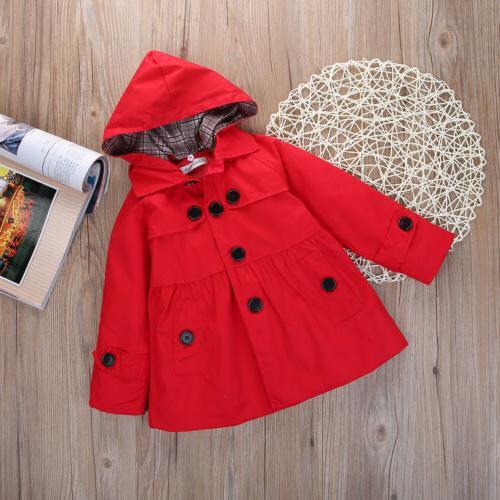 USA Girl Long Coat Jacket Fleece