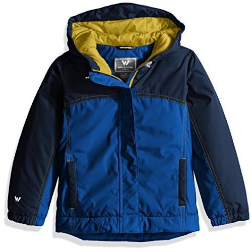White Sierra Toddler Boys Casper Insulated Jacket, Shield Bl