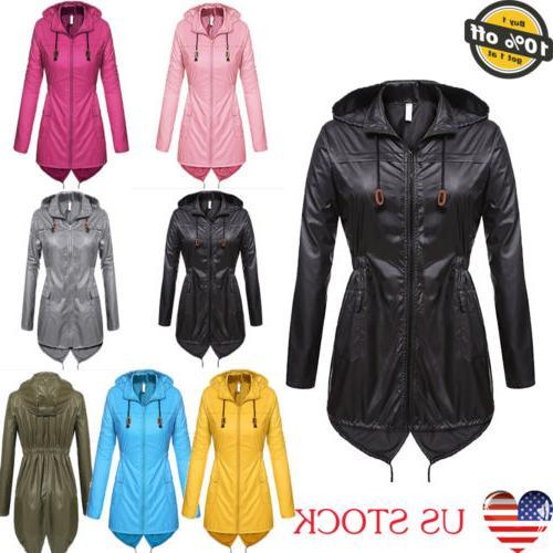Women Forest Jacket Raincoat Waterproof Outdoor Hiking Coat